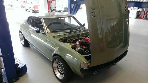 Japanese Mustang For Sale V8 Toyota Celica Gt Restomod