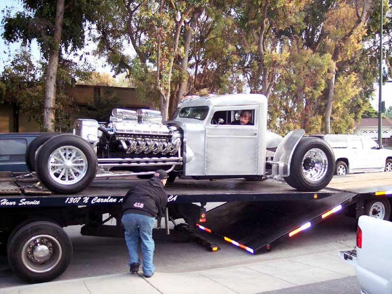 Freedom Auto Group >> Jay Leno Checks Out Blastone's Two-Stroke Diesel Peterbilt ...