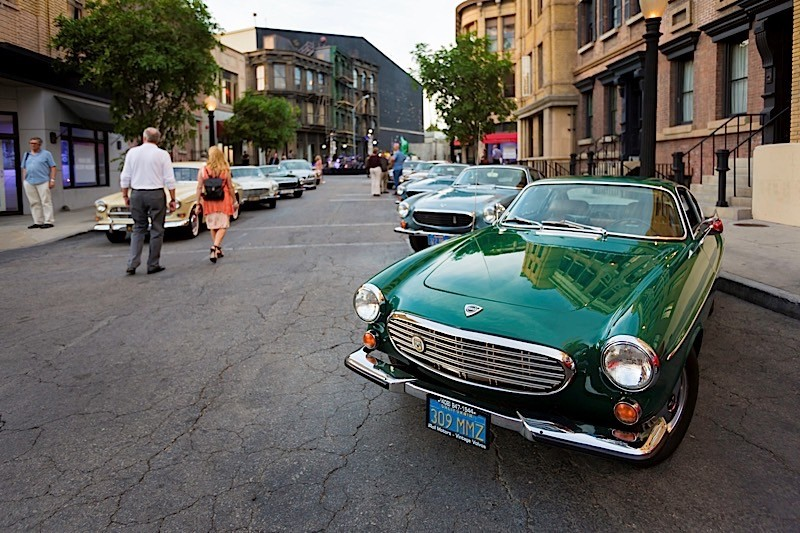 Actors Jay Leno And Classic Cars Celebrate Volvo S