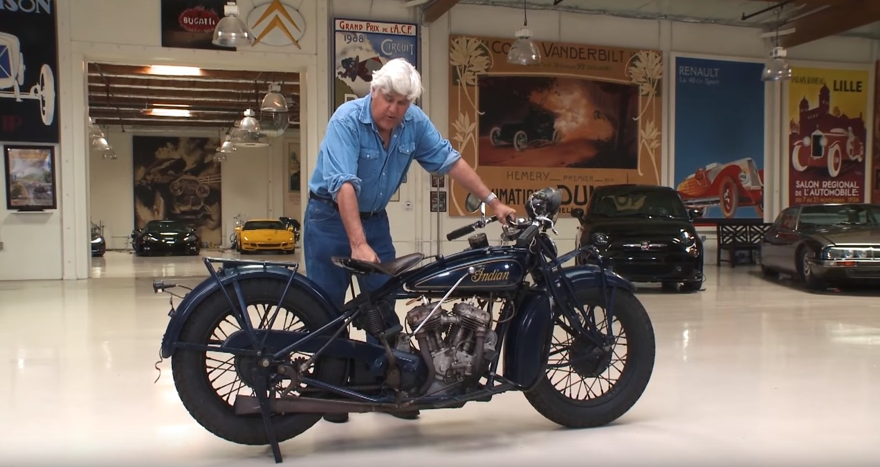 Used Cars Madison Wi >> Jay Leno Rides a Legendary 1931 Indian 101 Scout ...