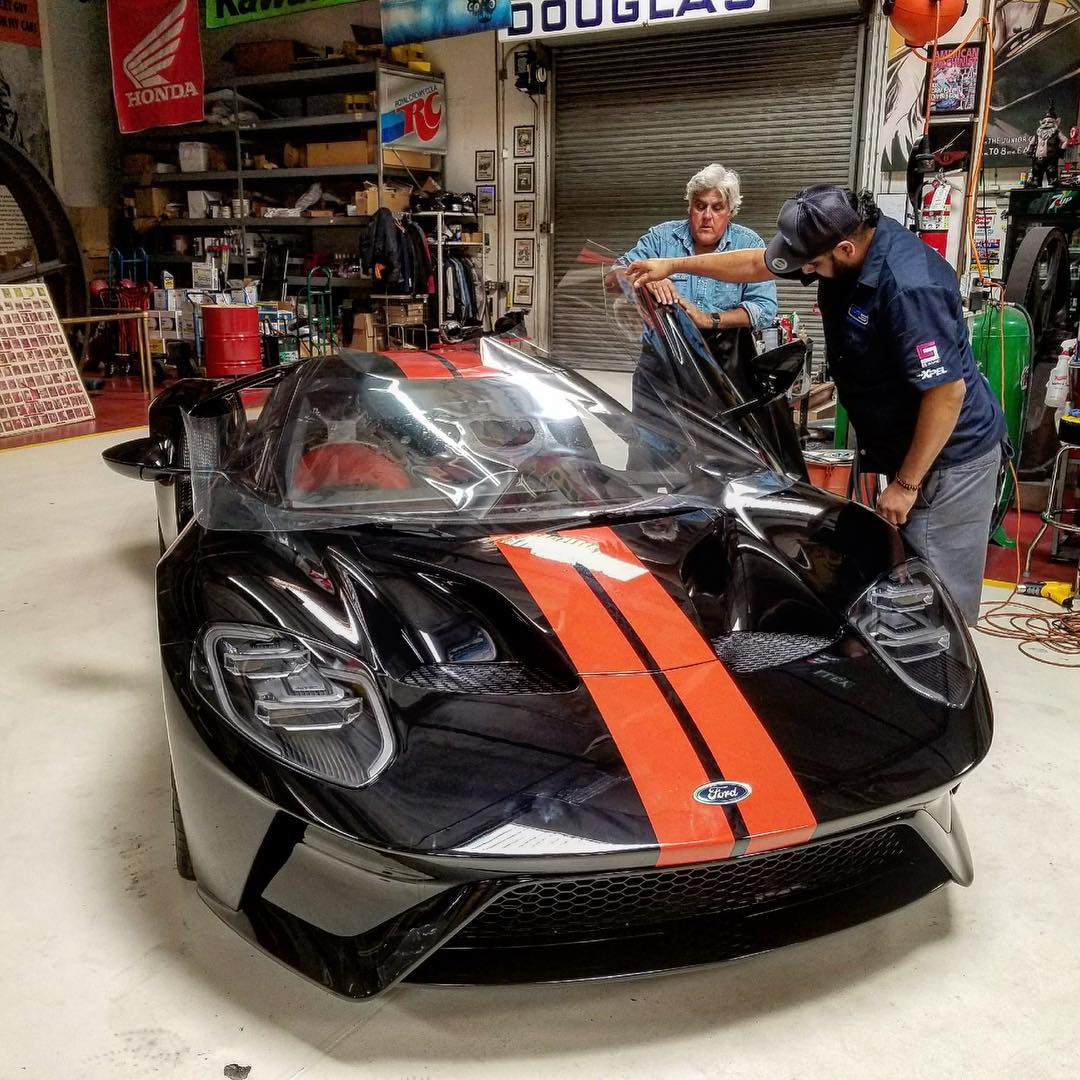 Jay Leno's Ford GT Window Sticker Reveals $506,252 Price - autoevolution