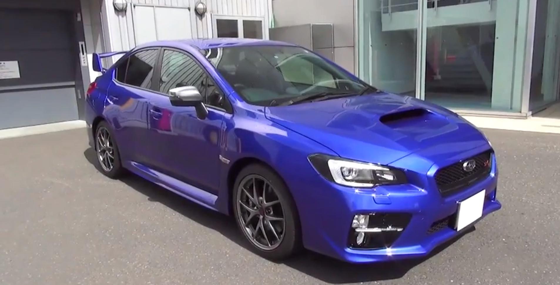 Jdm Spec Subaru Wrx Sti Type S