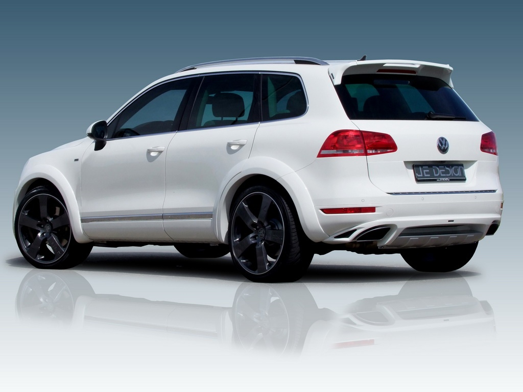 Je Design Introduces the 440 HP VW Touareg Hybrid - autoevolution