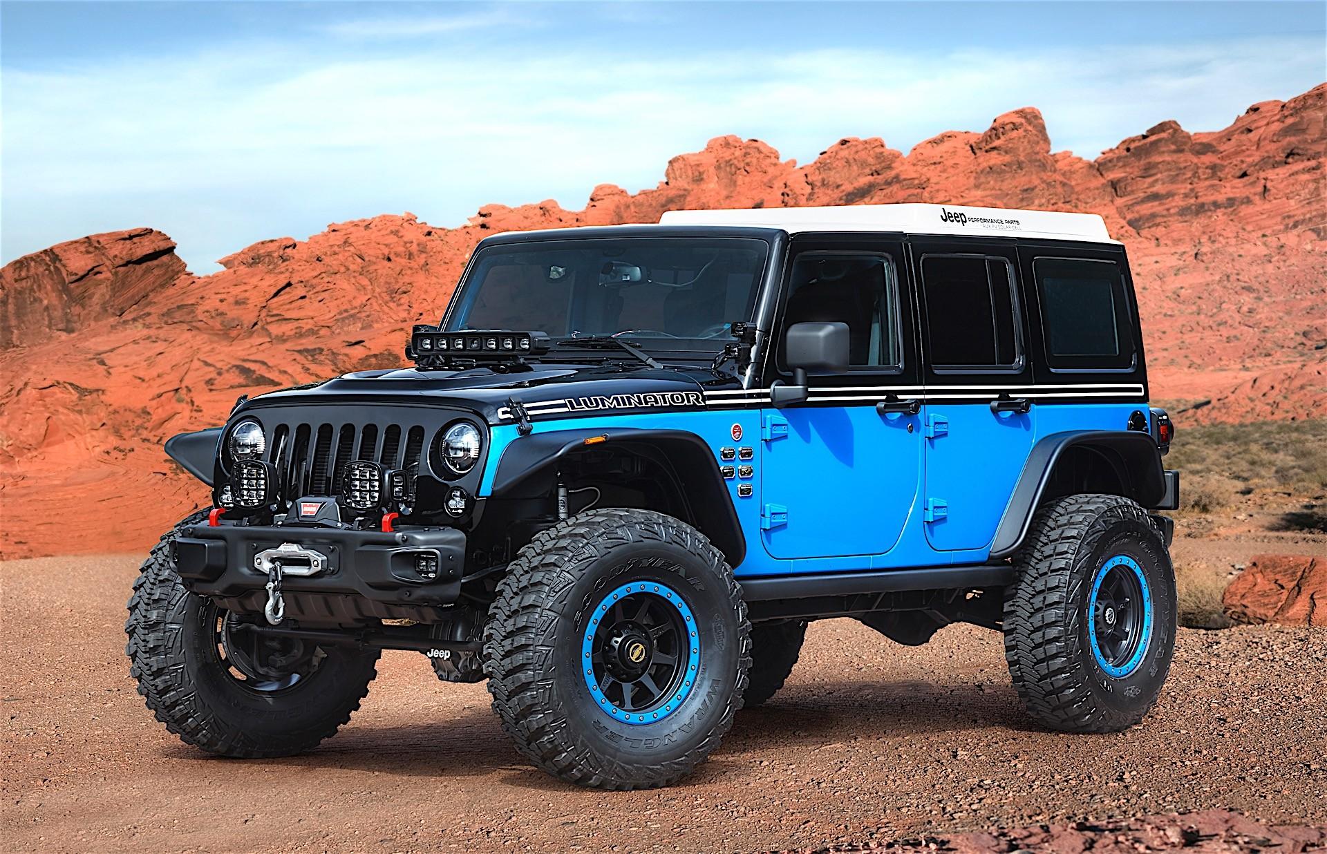 jeep unveils several concept vehicles for 2017 moab easter jeep safari autoevolution. Black Bedroom Furniture Sets. Home Design Ideas