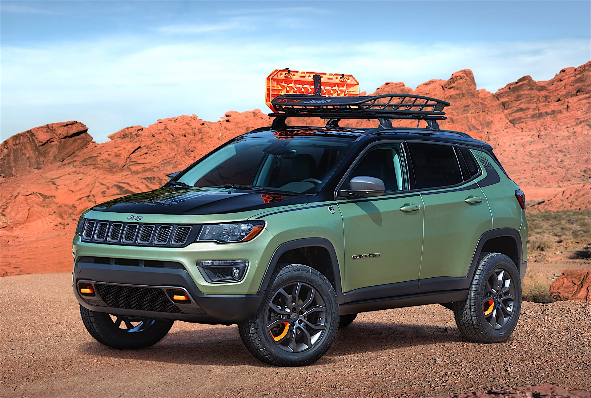 jeep unveils several concept vehicles for 2017 moab easter jeep safari autoevolution