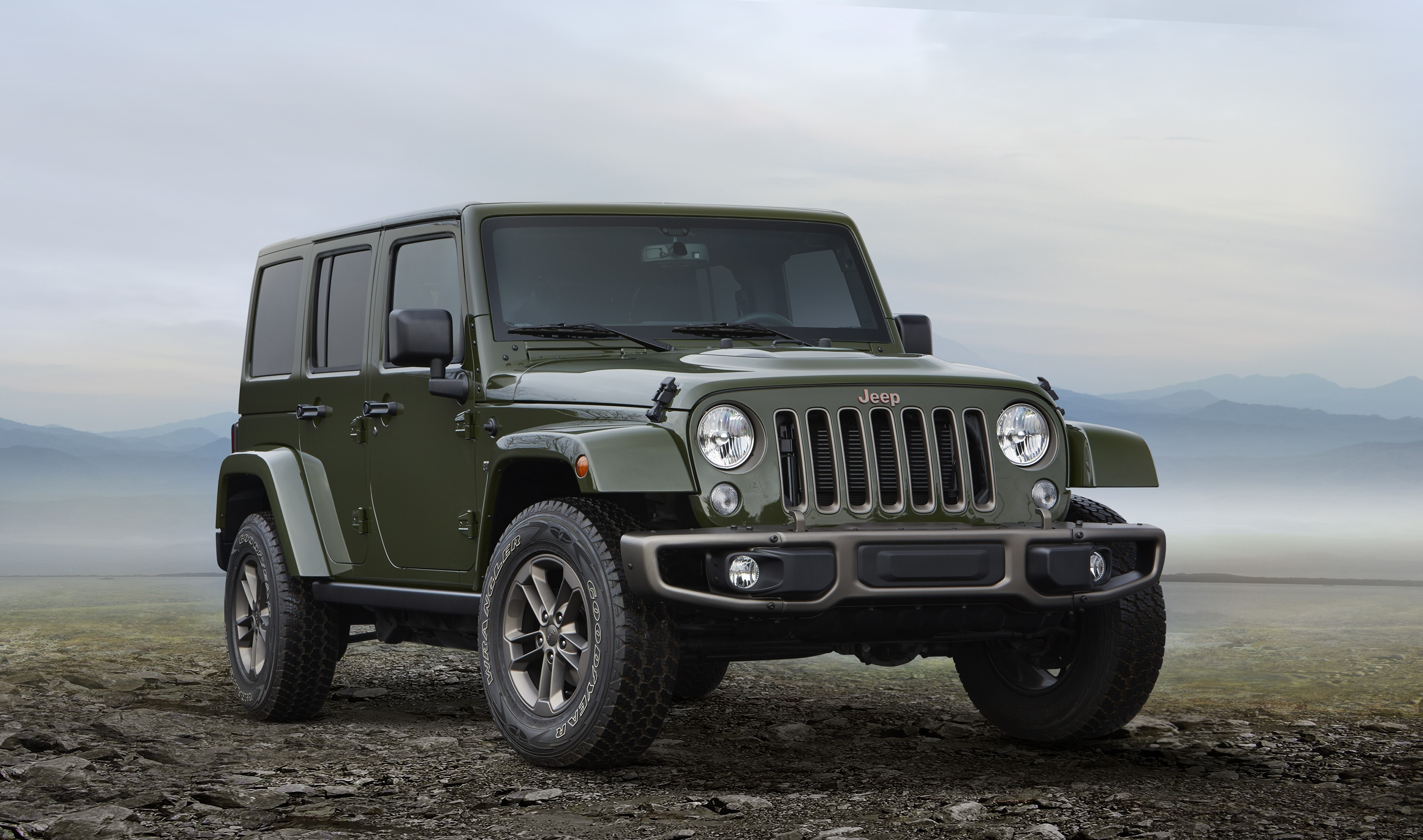 Jeep Wrangler 75th Anniversary Edition Goes On Sale In the UK ...