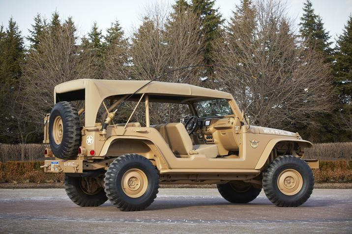 Jeep chief concept is the star of the 49th annual easter jeep safari autoevolution