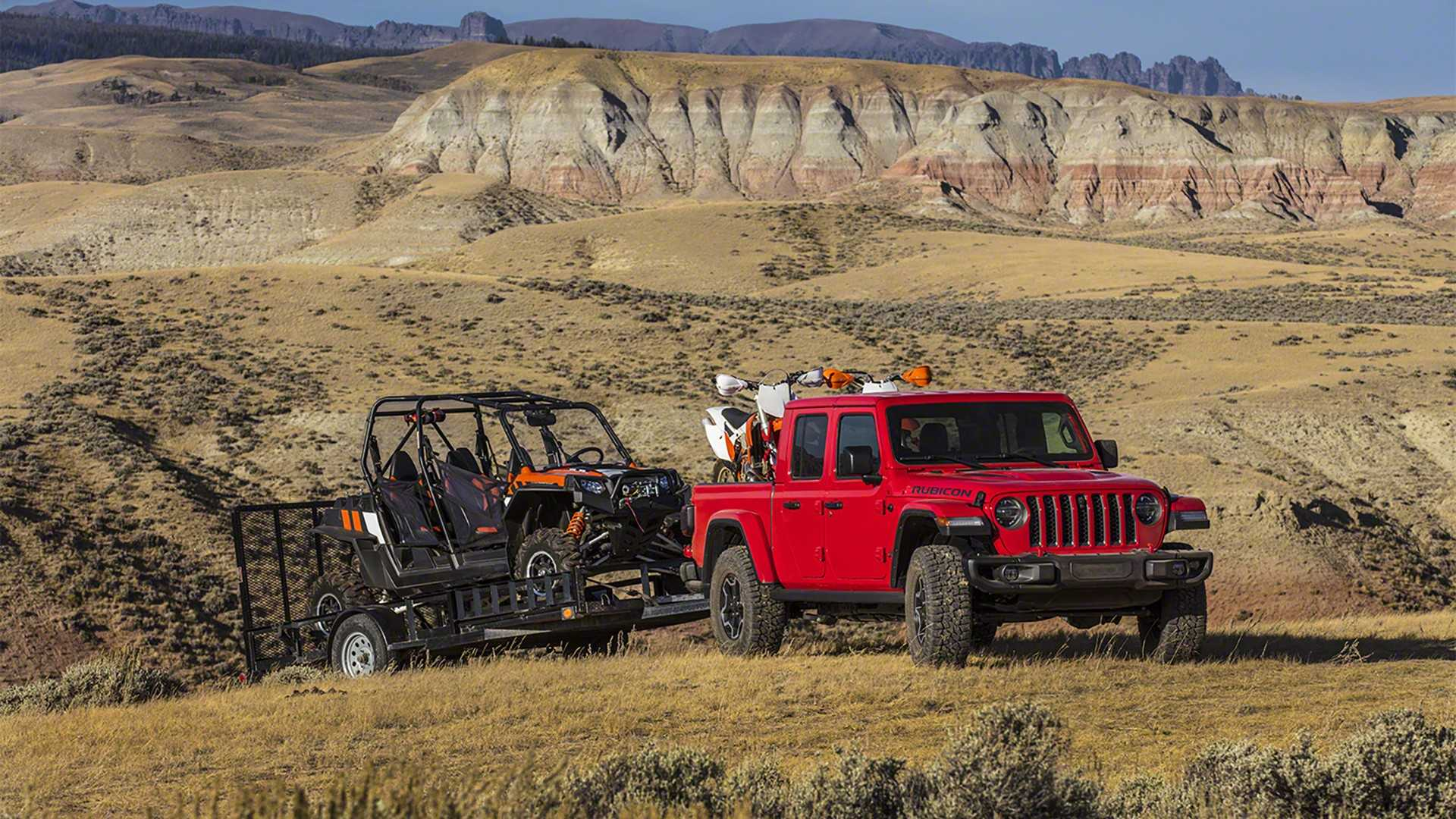 Jeep Configurator For 2020 Gladiator Pickup Truck Goes ...