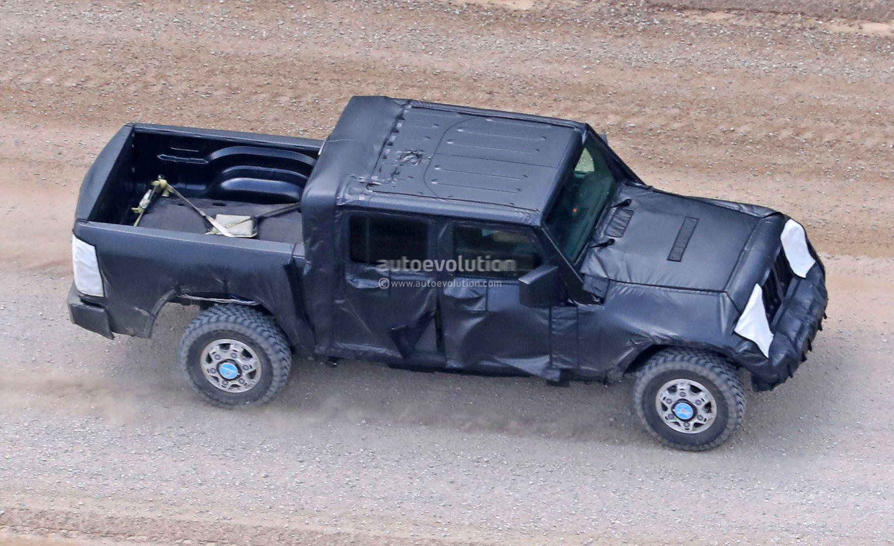 2017 jeep wrangler concept design 2017 - Jeep Wrangler Pickup Truck Spied