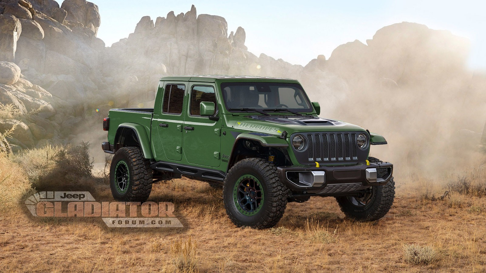 Jeep Gladiator Hercules Considered, Aimed At Ford Ranger ...