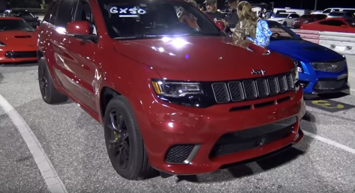 Jeep Grand Cherokee Trackhawk Vs Bmw X6 M Drag Race Is A Bummer