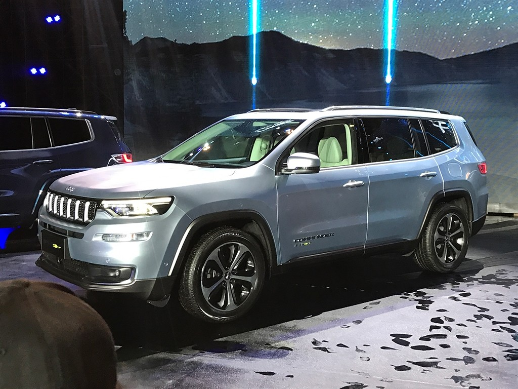 Jeep Grand Commander PHEV Revealed In China, Will Go On ...