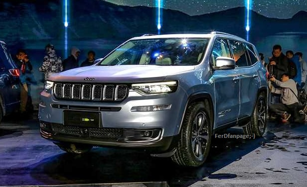 Jeep Wrangler Lifted >> Jeep Grand Commander PHEV Revealed In China, Will Go On ...