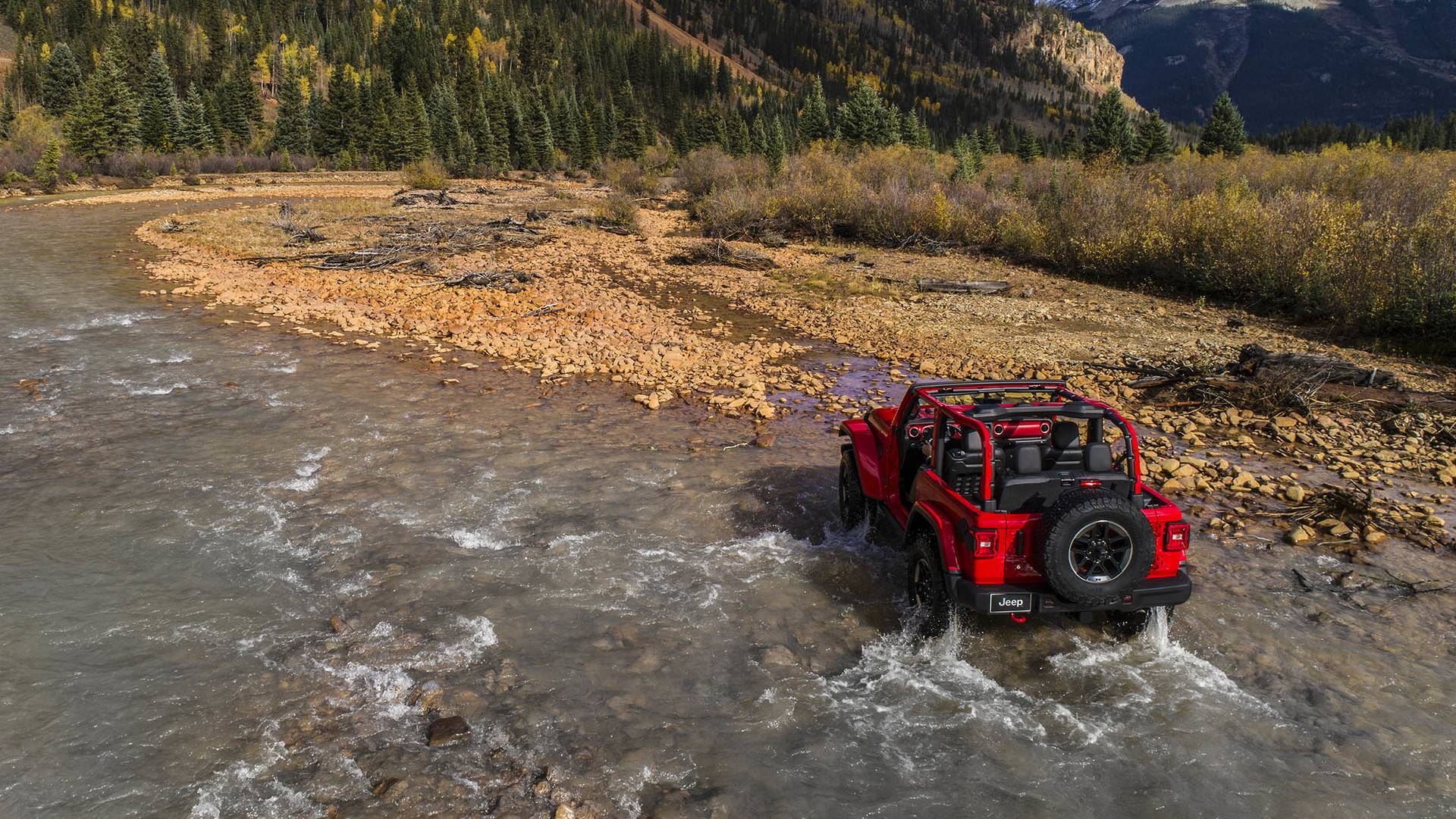 Jeep Ceo Confirms 2018 Wrangler Jl Will Be Boxy Water Is In