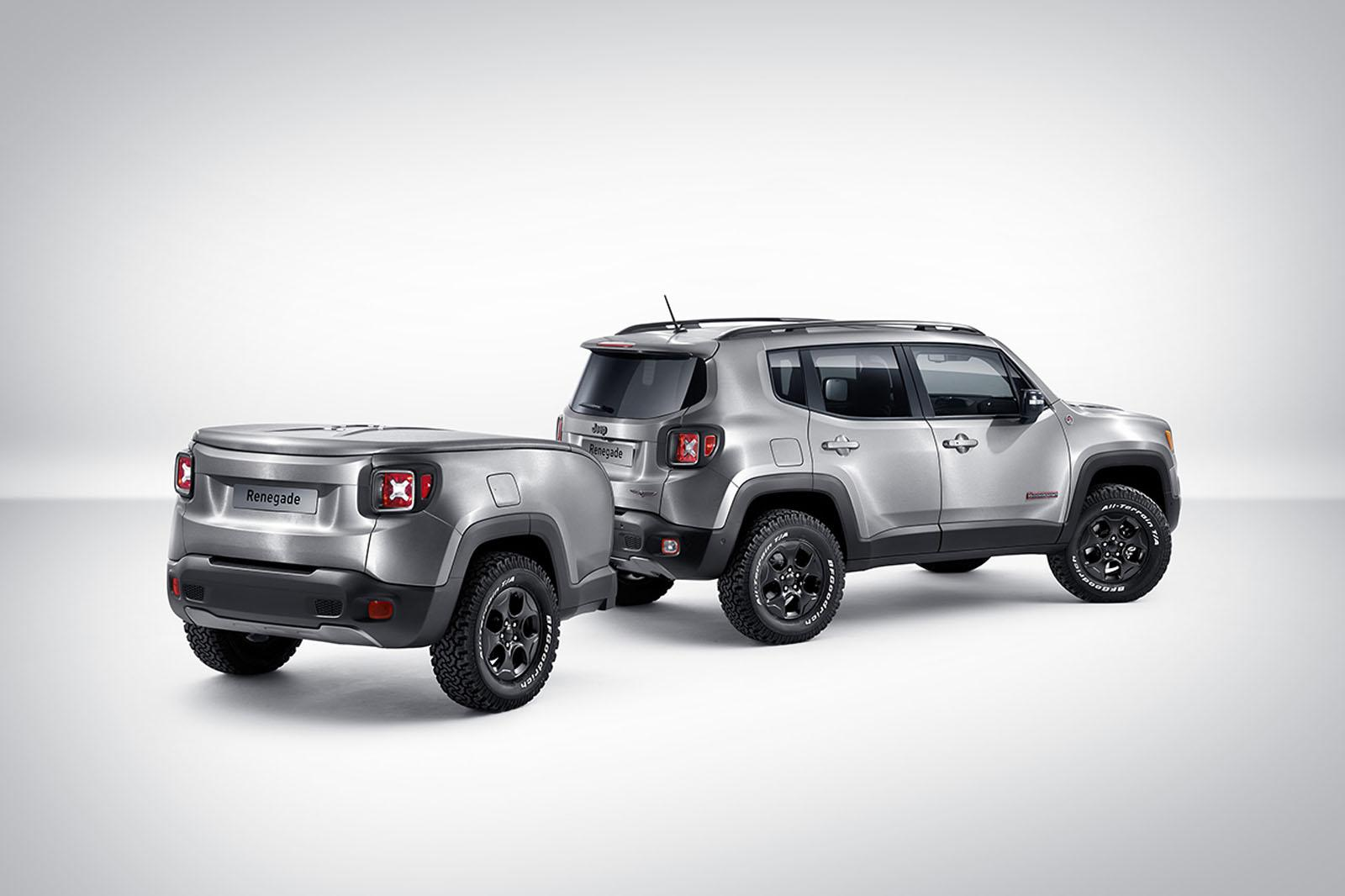 Jeep Renegade Gets a Pimped Out Trailer and Brushed Steel