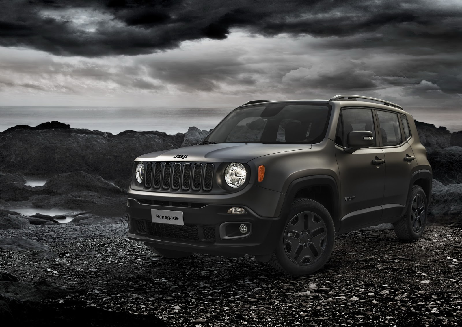 jeep renegade receives night eagle special edition autoevolution. Black Bedroom Furniture Sets. Home Design Ideas
