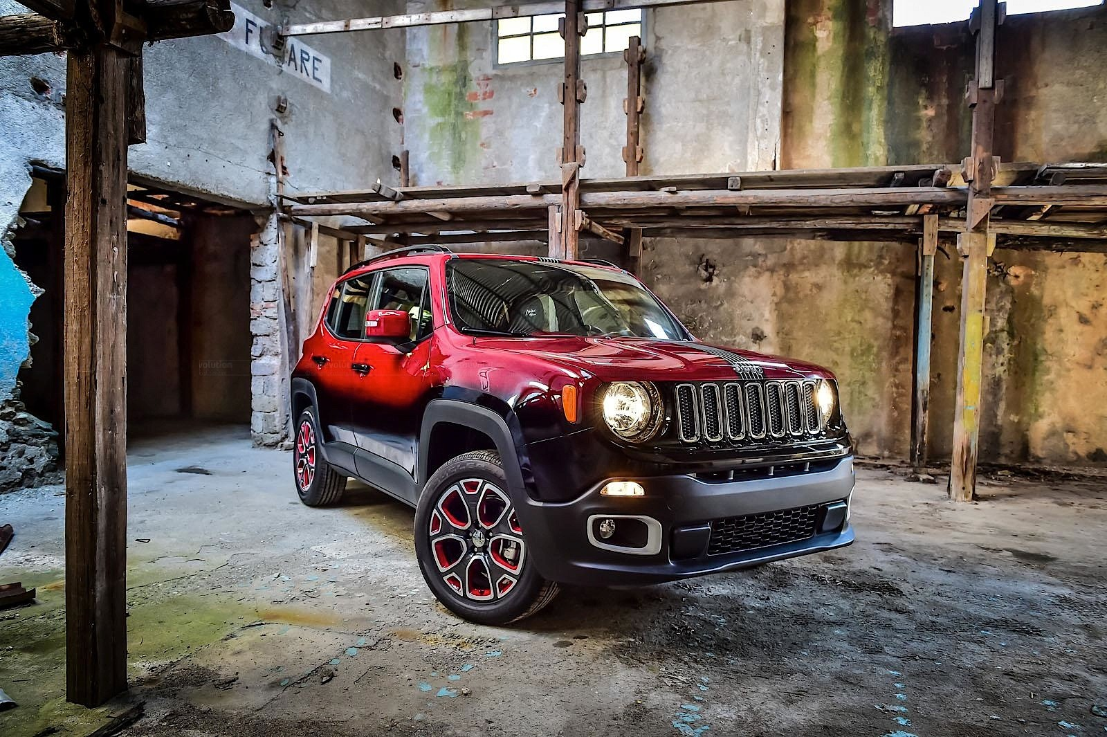 Jeep Renegade Lifted >> Jeep Renegade Twins Get Custom Paint for Montreux Jazz Festival - autoevolution