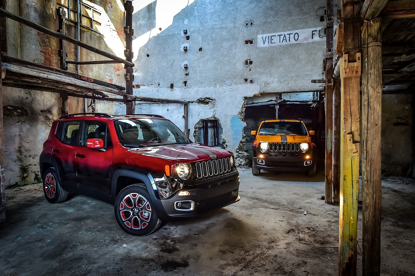 Jeep Renegade Twins Get Custom Paint for Montreux Jazz Festival ...
