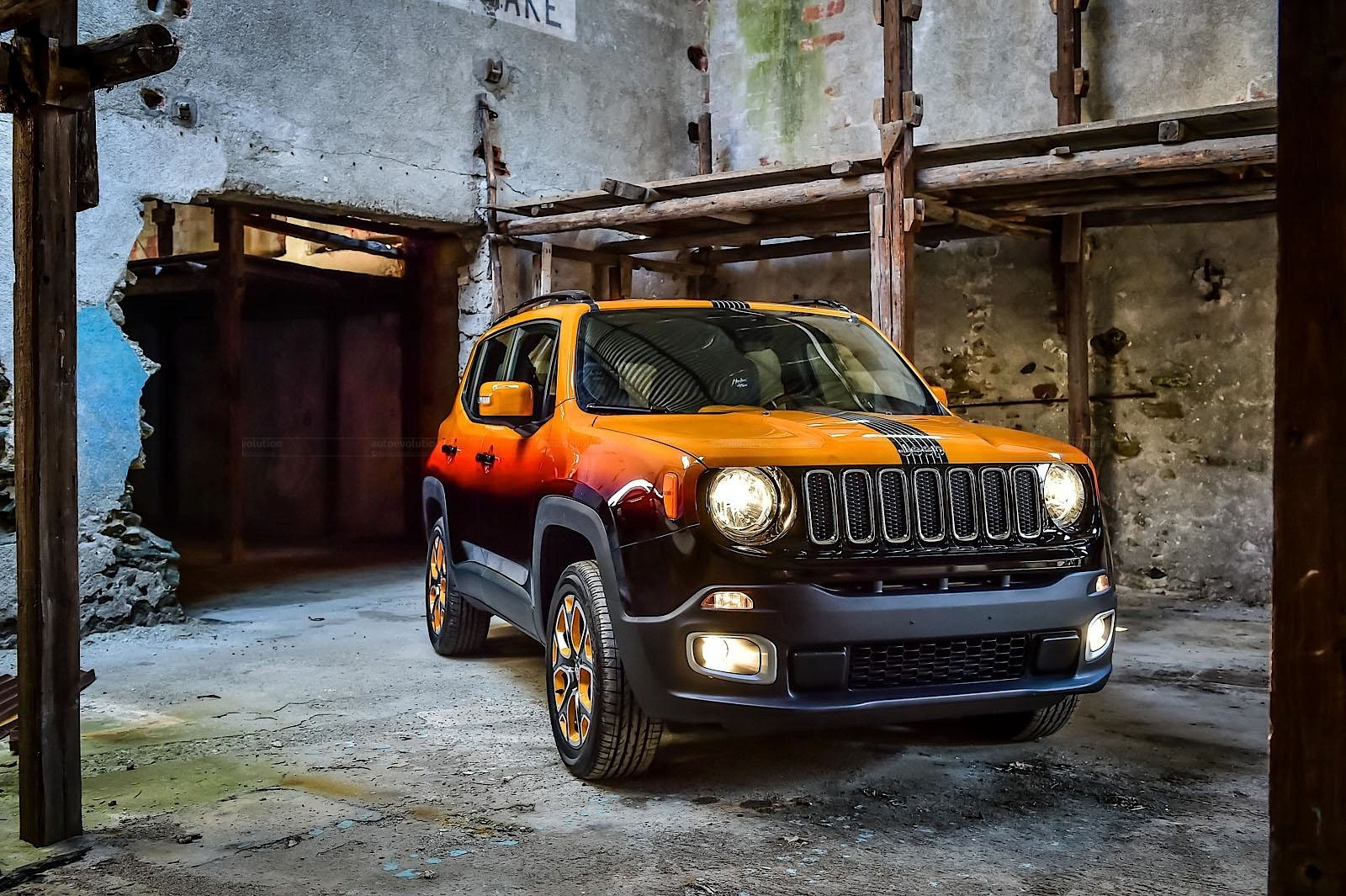 Jeep Renegade Twins Get Custom Paint for Montreux Jazz ...