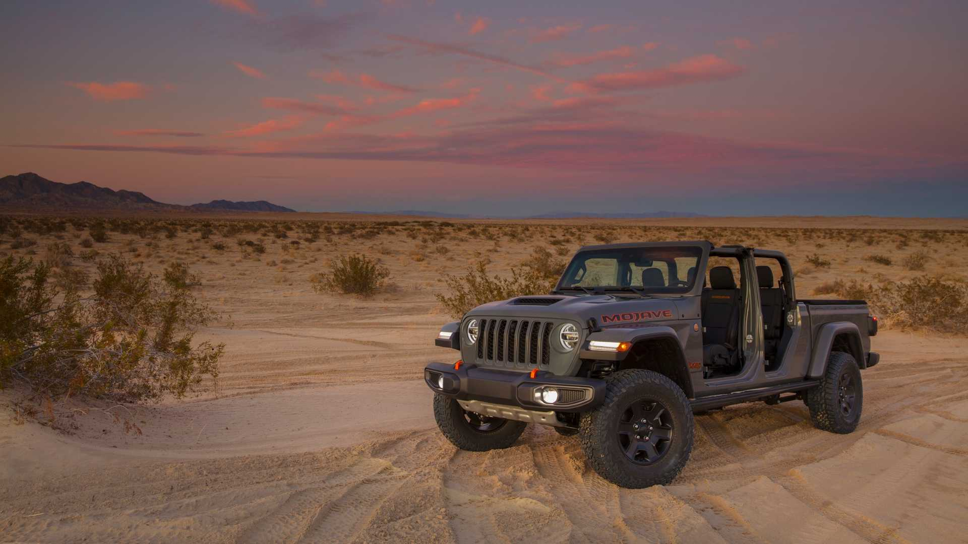 Jeep Reveals 2020 Gladiator Mojave, Adds High Altitude ...
