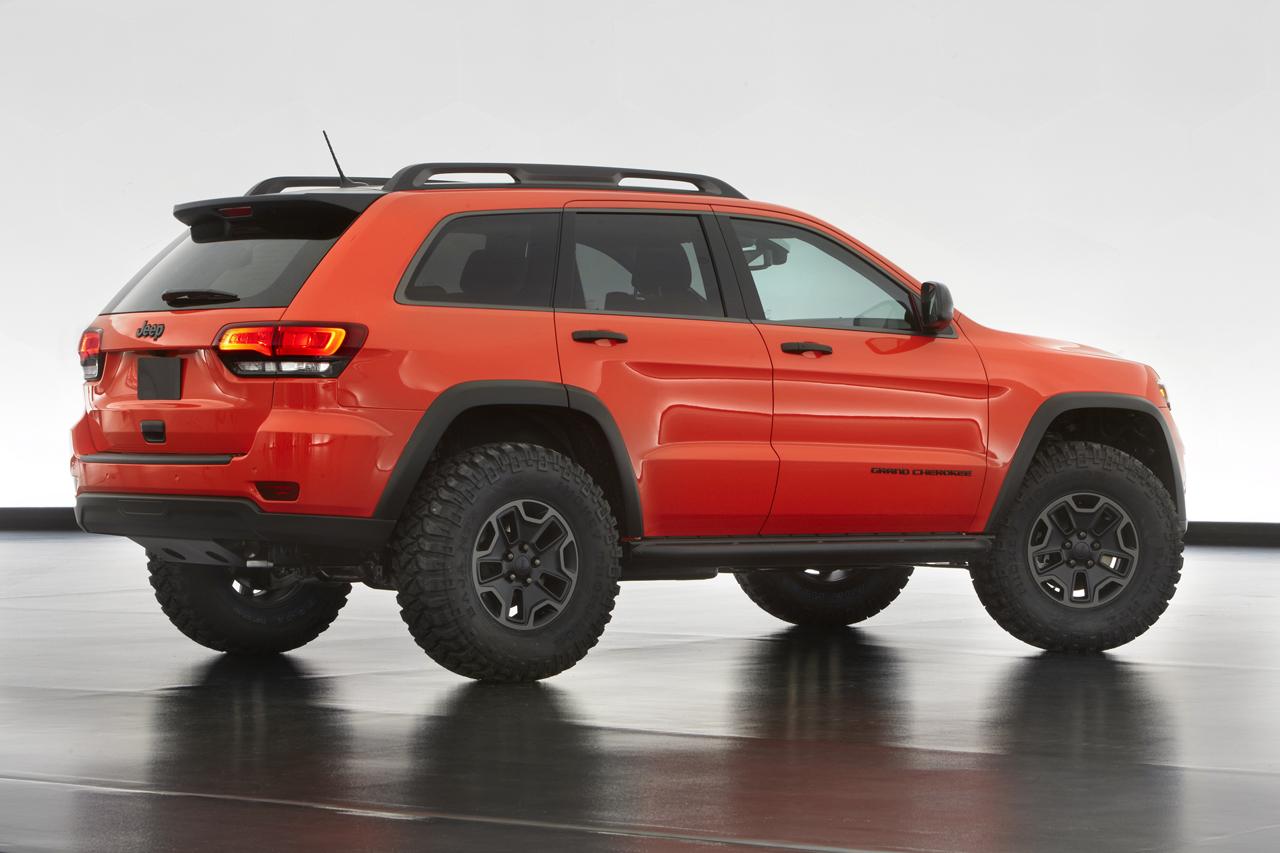 jeep reveals grand cherokee trailhawk concept autoevolution. Black Bedroom Furniture Sets. Home Design Ideas