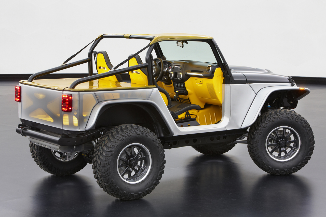 Jeep Unveils Extreme Wrangler Concepts Before Moab ...