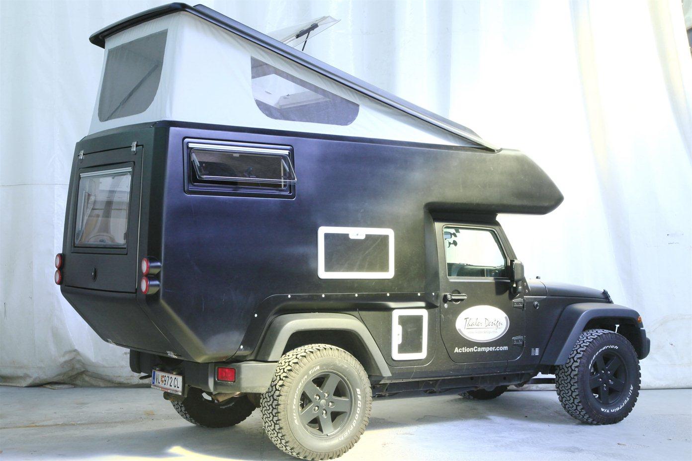 jeep wrangler action camper rv autoevolution. Black Bedroom Furniture Sets. Home Design Ideas