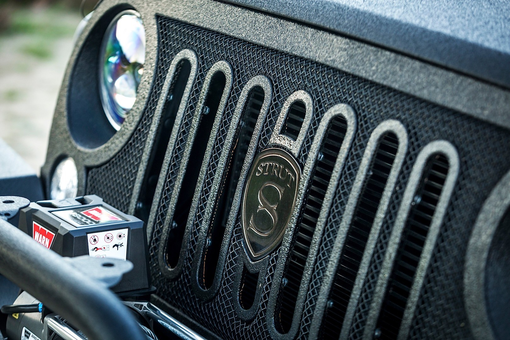 Jeep Wrangler Gets Three Custom New Grilles from STRUT ...