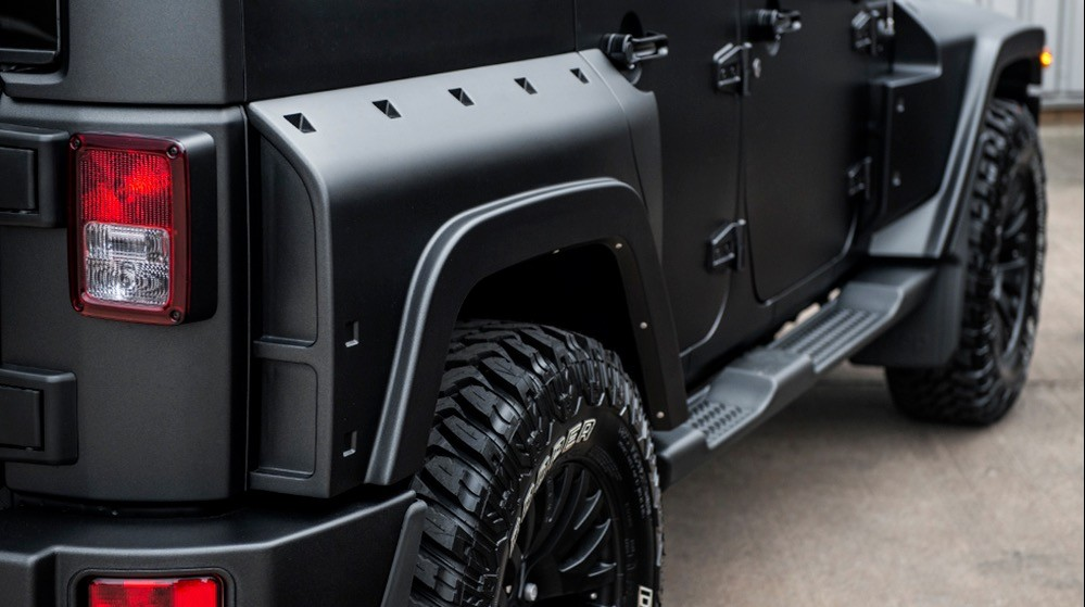 Jeep Wrangler Gets Tuning Kit From Chelsea Truck Company