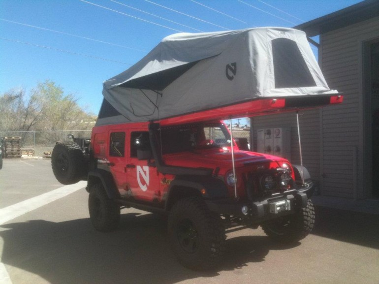 Jeep Wrangler Pop Top Camper By Ursa Minor Vehicles