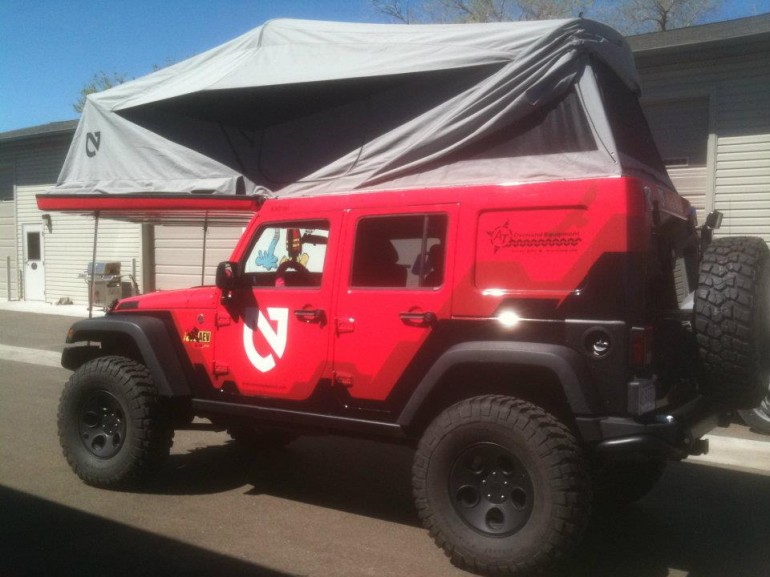 Jeep wrangler pop top camper by ursa minor vehicles autoevolution