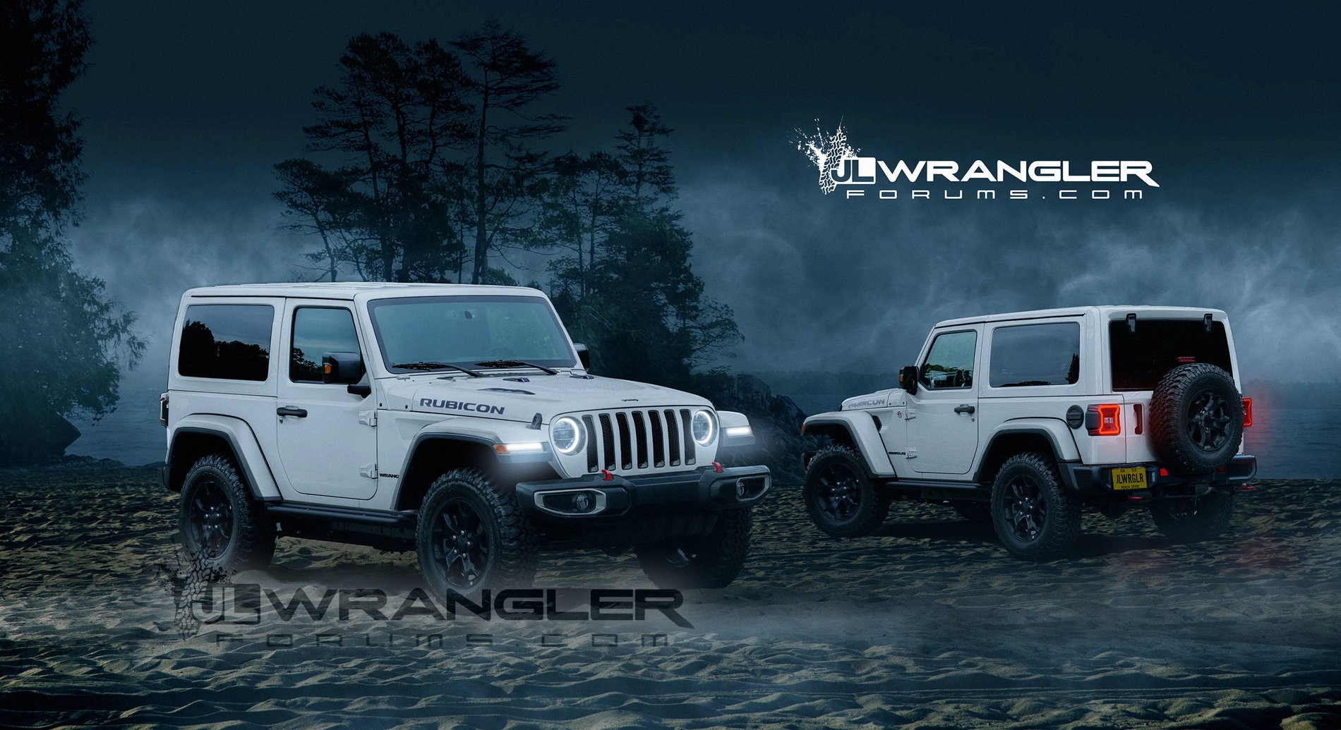2018 Jeep Wrangler Jl Masterfully Rendered Into Reality