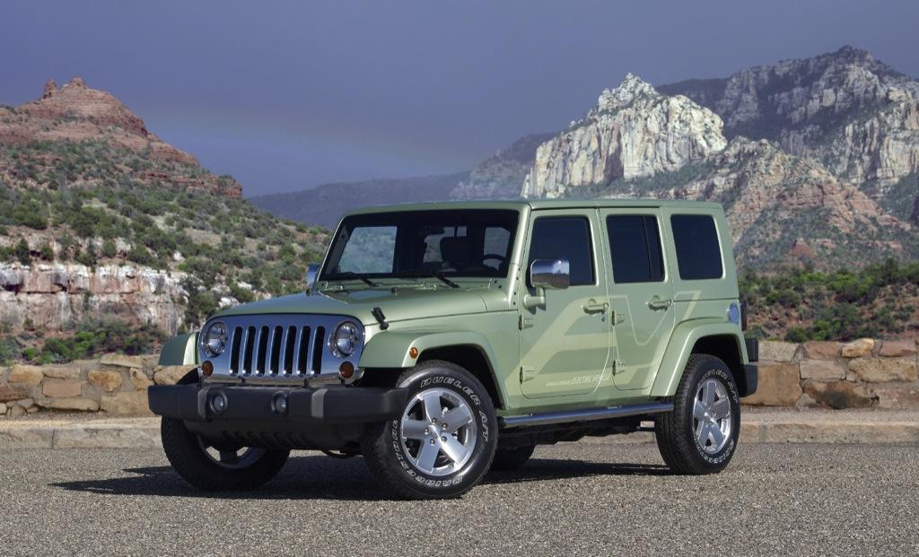 Jeep Wrangler Unlimited Ev Launched At Detroit Autoevolution