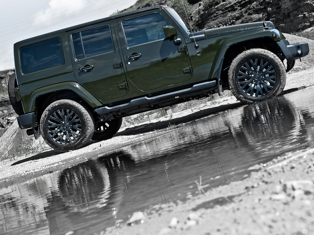 Jeep Wrangler Unlimited Touched By Kahn Autoevolution