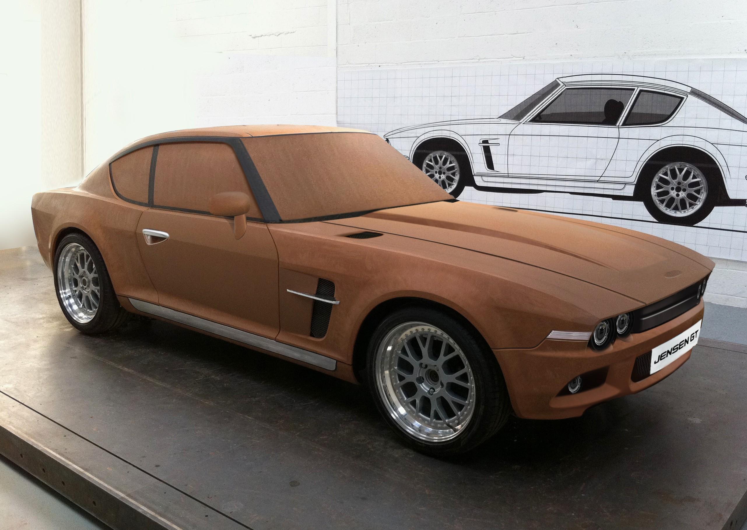 Jensen GT Teased in Clay Model Format, 2016 Jensen ...