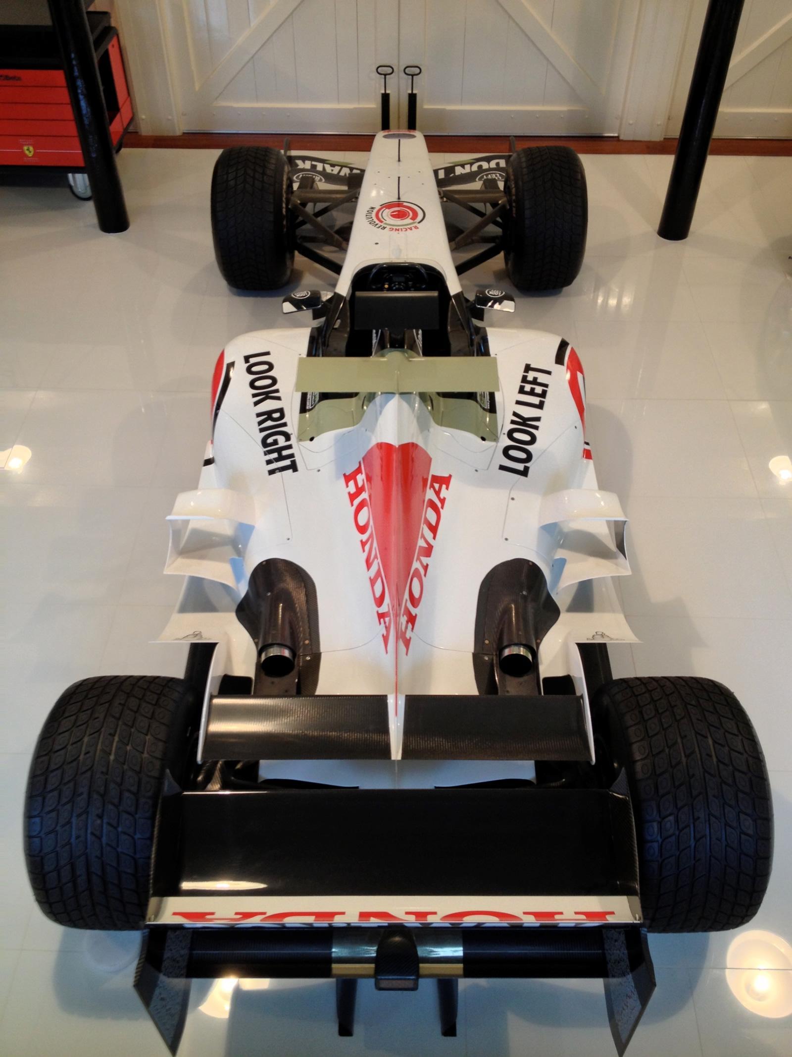 Jenson Button\'s BAR Honda 006 Formula 1 Car On Sale for £60,000 ...