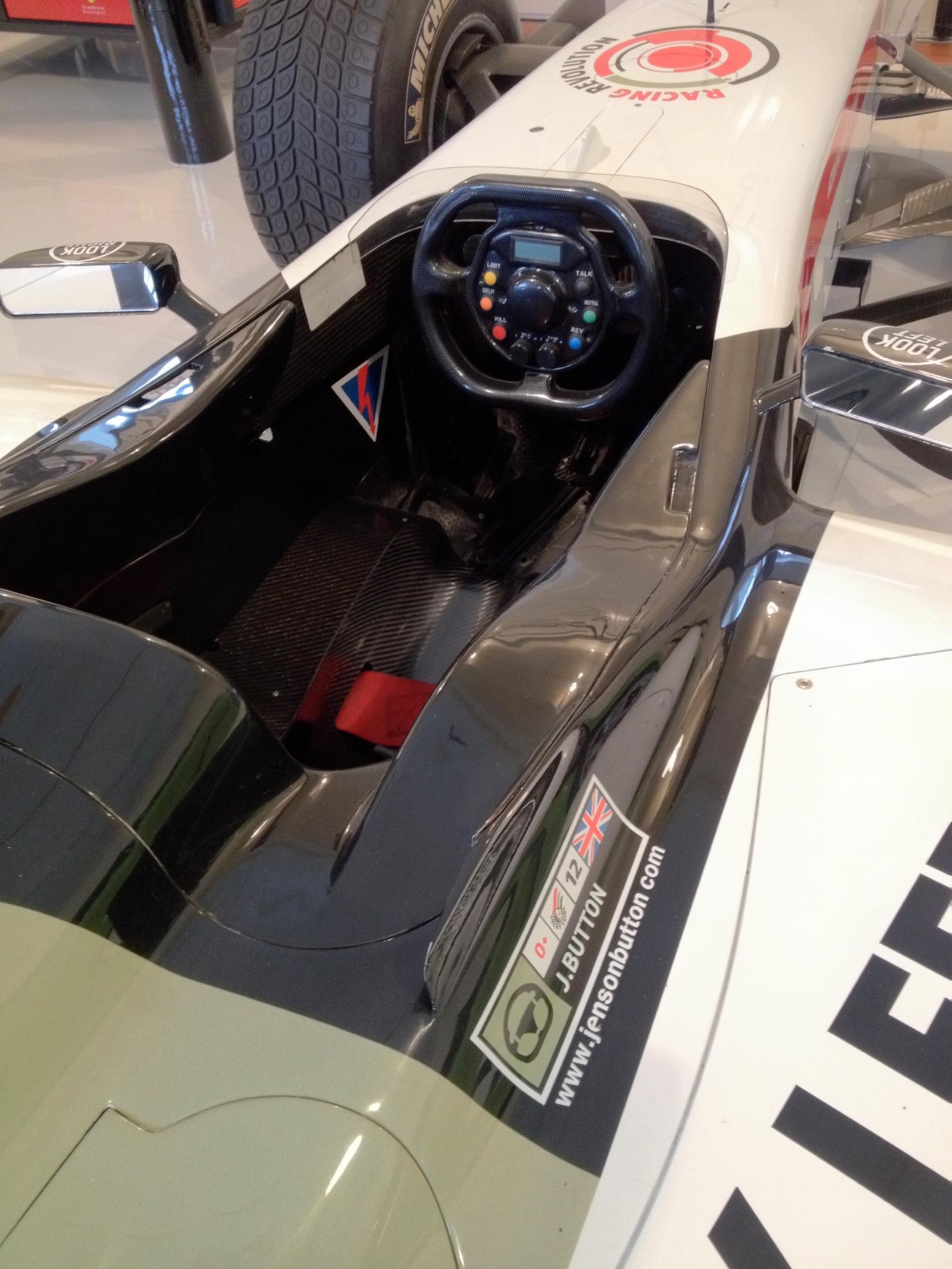 Jenson Button's BAR Honda 006 Formula 1 Car On Sale for £ ...