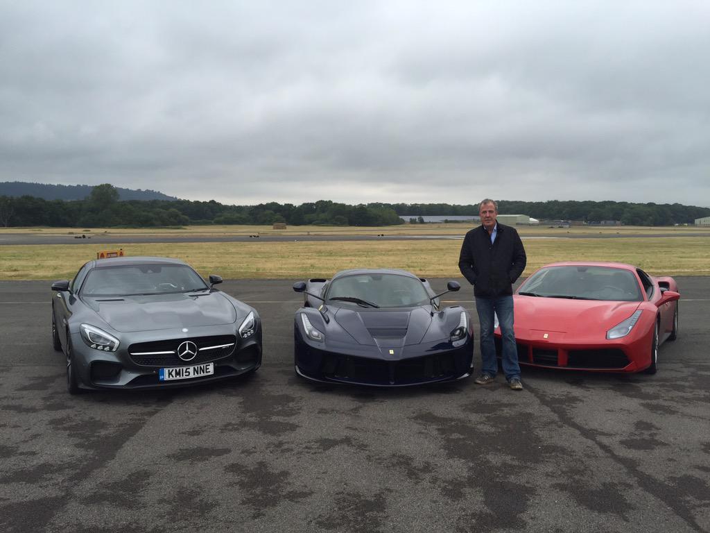 Jeremy Clarkson Drives Ferrari 488 GTB on His Last Ever Top Gear ...