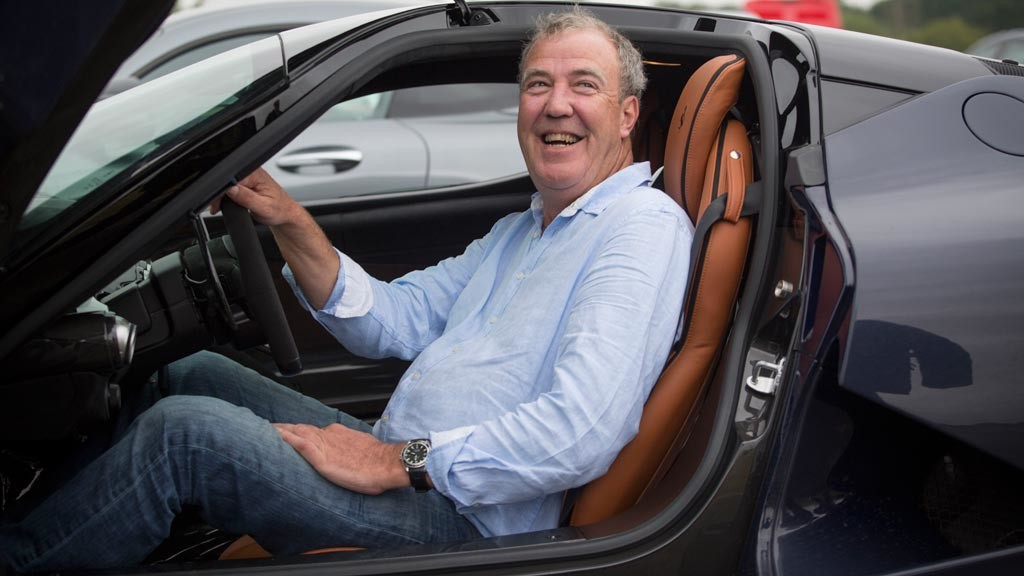 Jeremy Clarkson Drives Ferrari 488 Gtb On His Last Ever