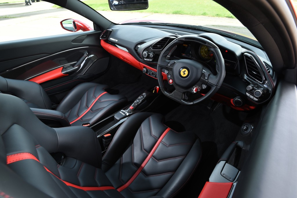 Top gear team planned to torch their cars to make for Interieur 488 gtb