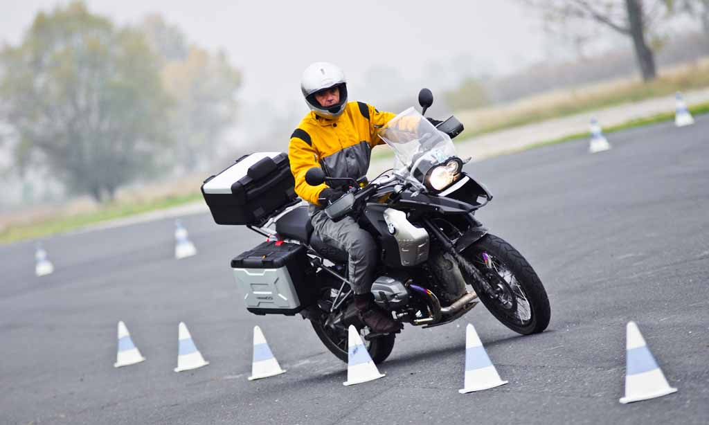 Jeremy Irons Takes Bmw Motorrad Rider Training Course