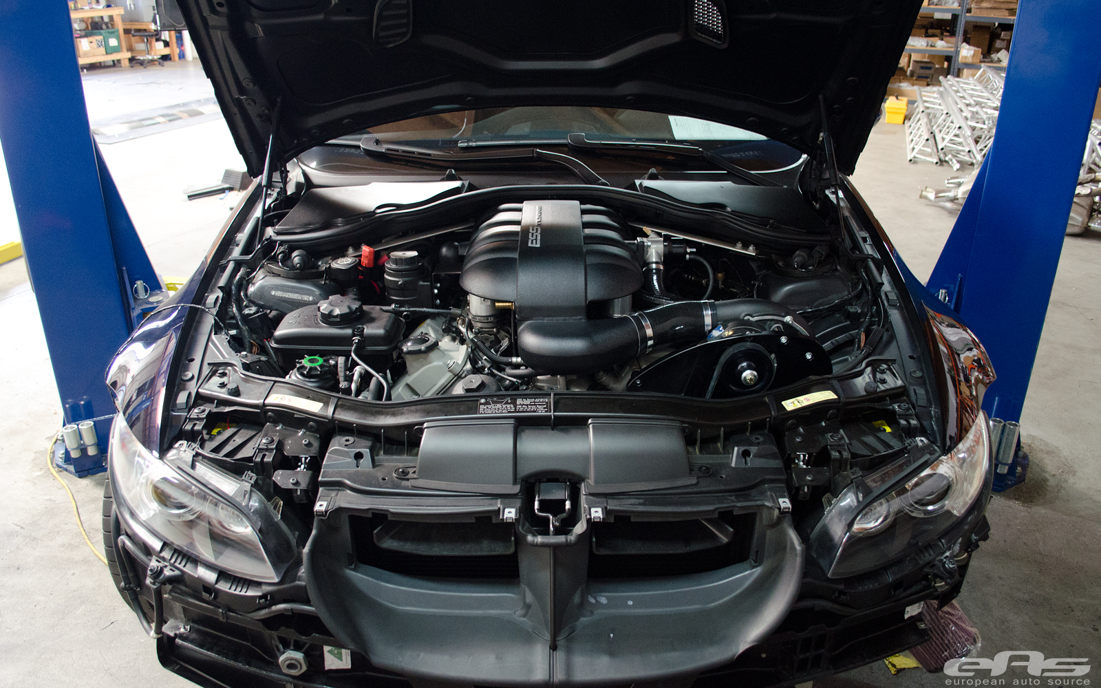 Jerez Black Bmw E90 M3 Gets Supercharger At Eas