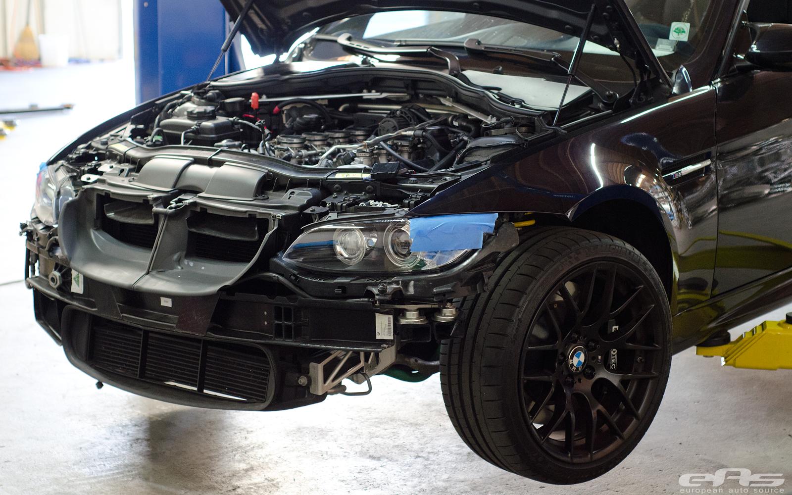 Jerez Black Bmw E90 M3 Gets Supercharger At Eas