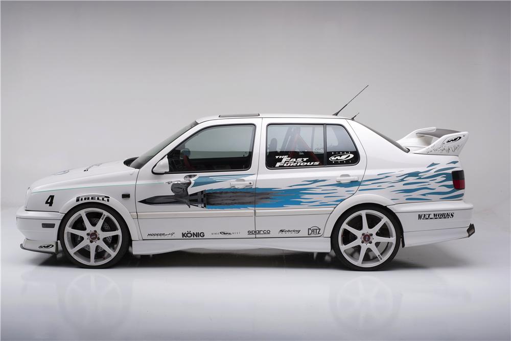 Rarita s podpisom Paula Walkera: Na predaj VW Jetta z Rýchlo a zbesilo!