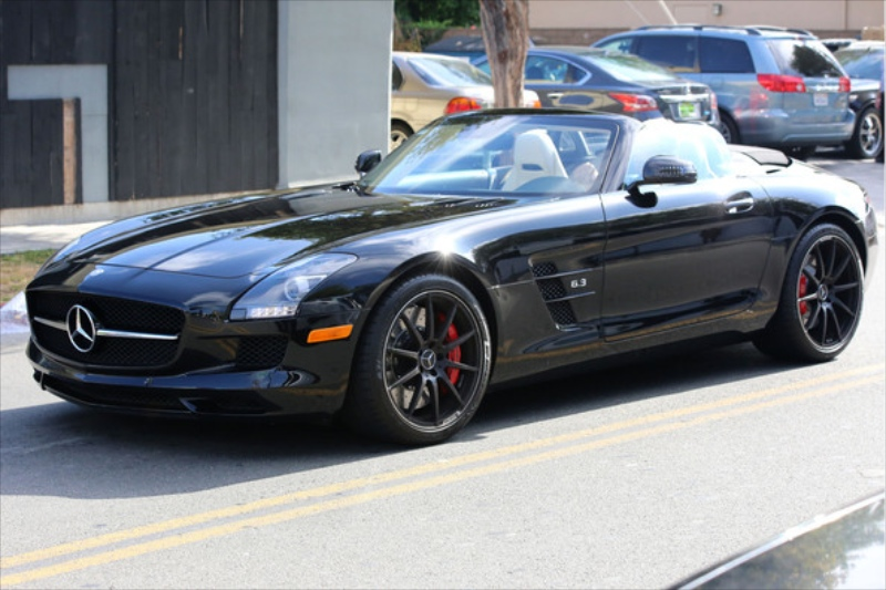 Jessica Simpson S Dad Rolling In An Sls Amg Gt Roadster