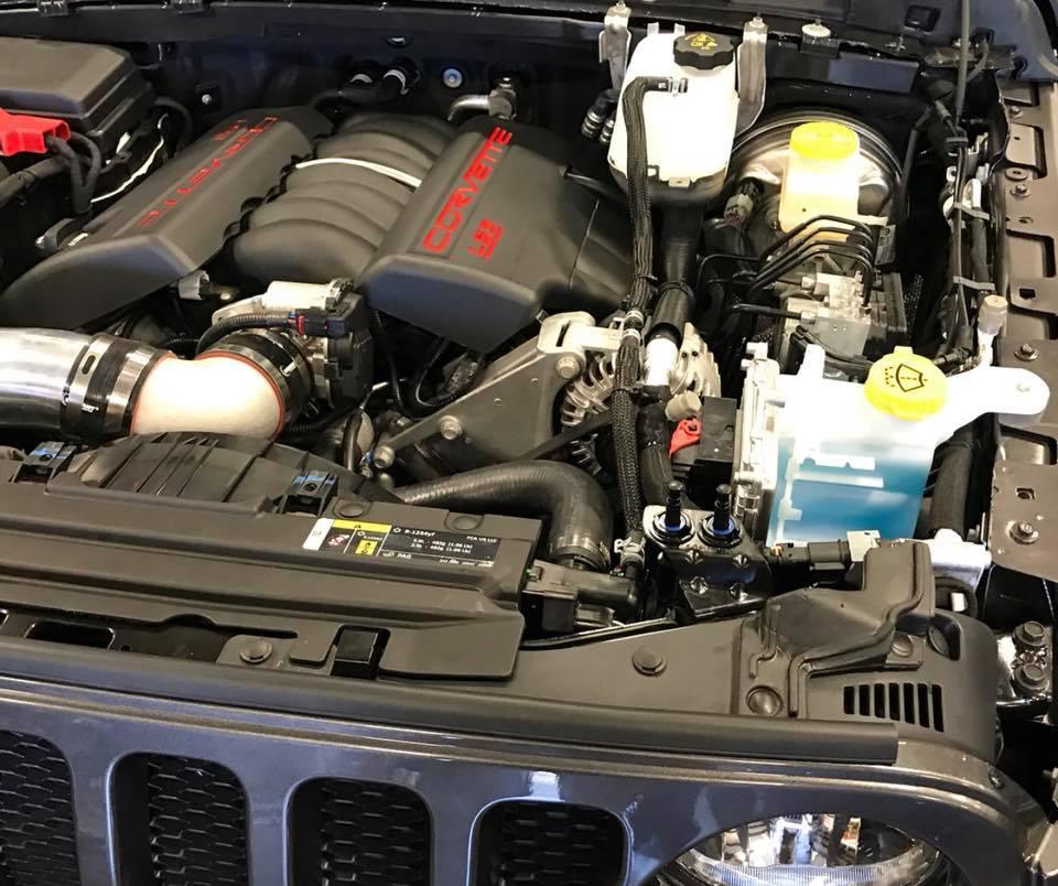 JL Wrangler LS3 V8 Swap JL Wrangler LS3 V8 Swap ...