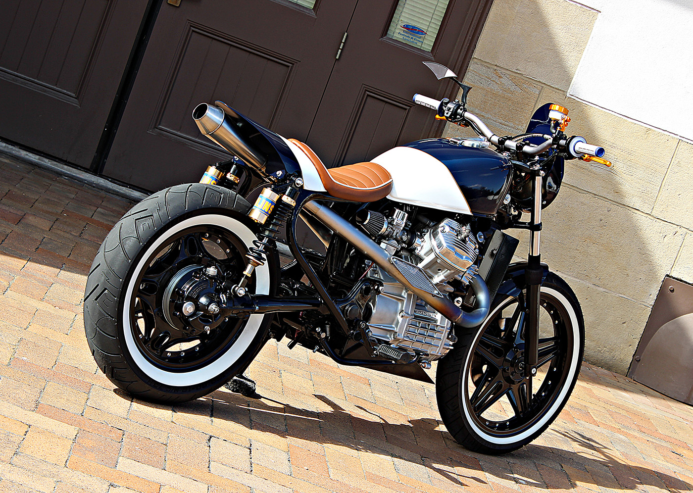 jmr customs builds amazing honda cx500 racer - autoevolution, Wiring diagram