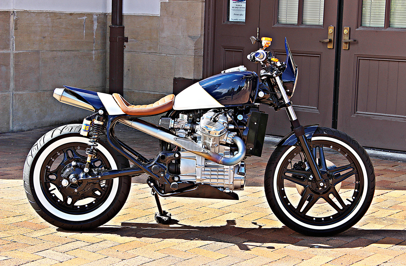 Jmr Customs Builds Amazing Honda Cx500 Racer Autoevolution
