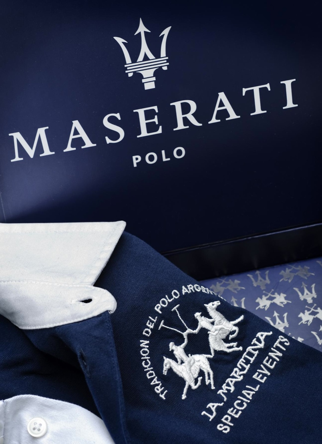 Jodie Kidd Launches La Martina For Maserati Anniversary Polo Shirt Autoevolution