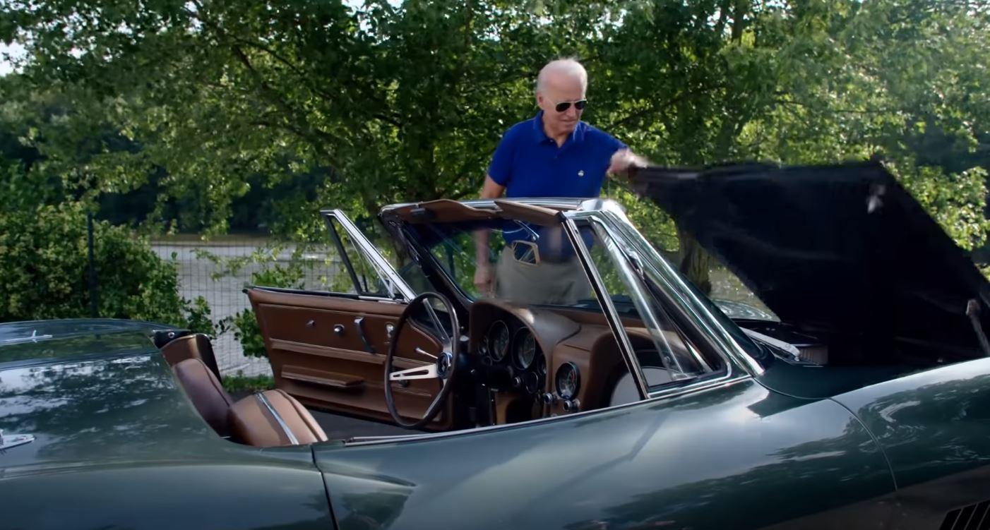 Joe Biden Shows Off 1967 Corvette Stingray, Talks Electric Version With 200  MPH - autoevolution